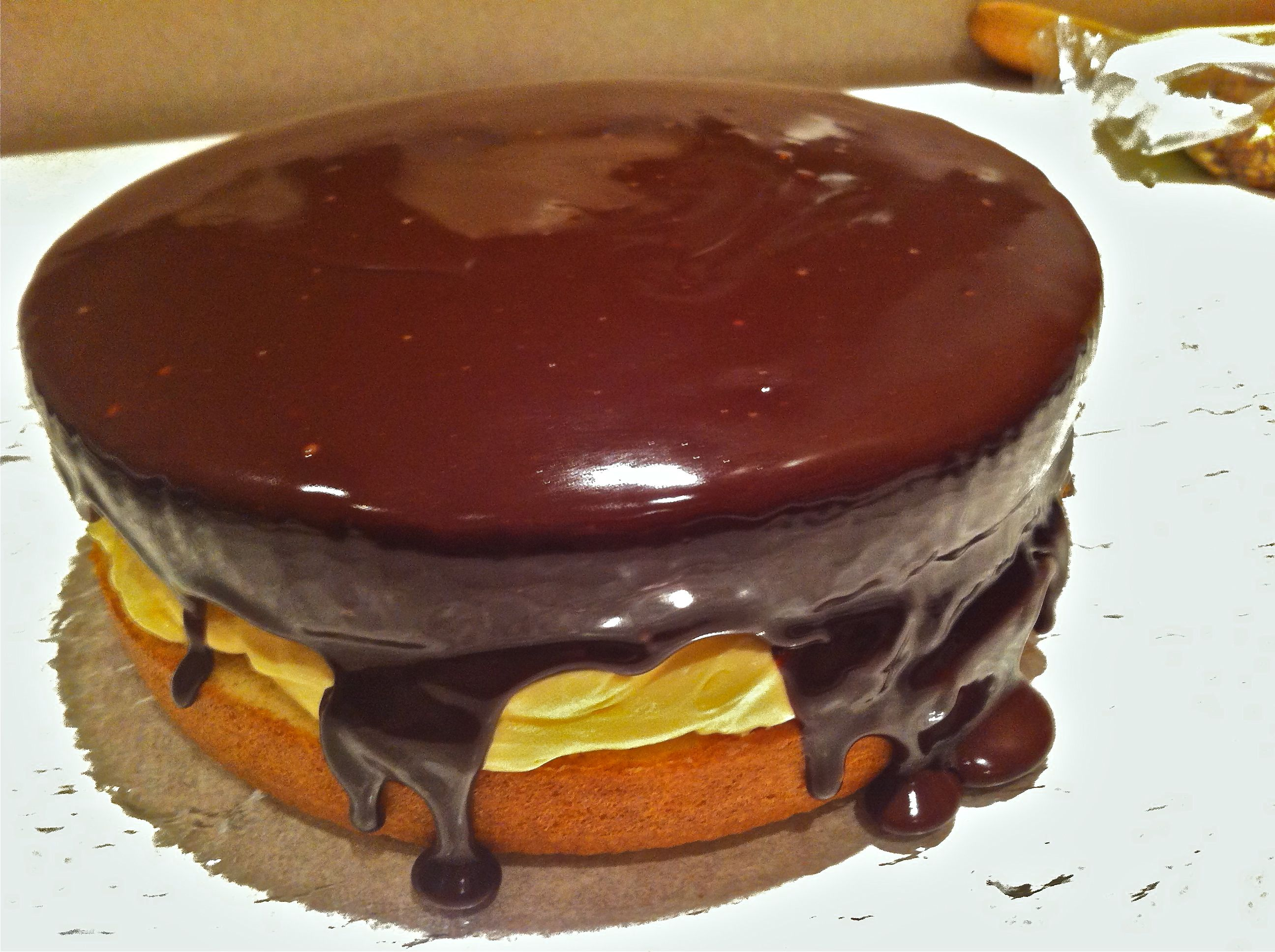 Boston Cream Pie is actually a cake, but it is believed that it is ...